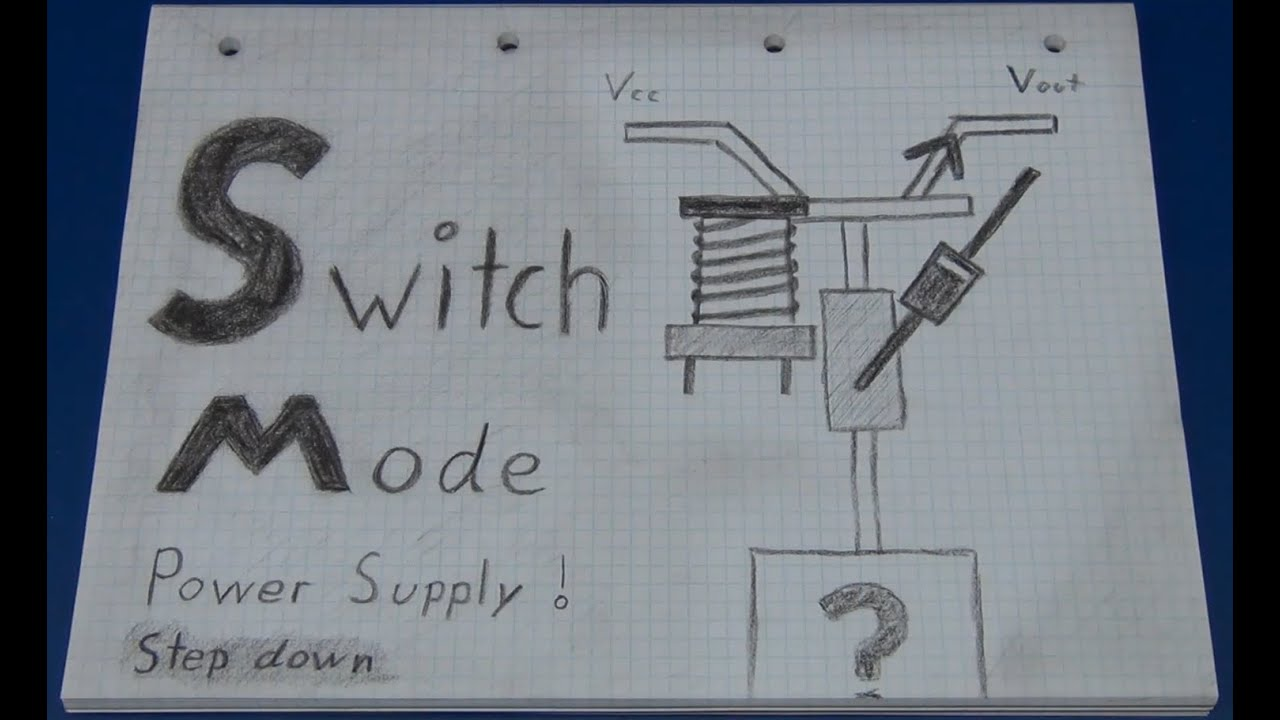 Switch Mode Power Supply Regulator Tutorial With Basic Example How To Build 5v Regulated Circuit Diagram Ec Projects Youtube