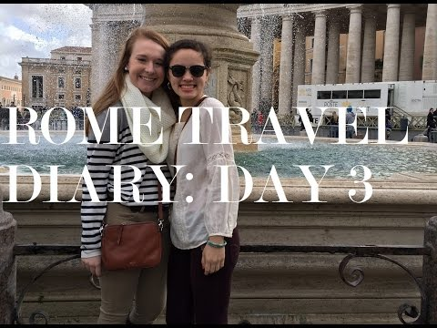 Rome Travel Diary: Day 3! The Scavi Tour, Trastevere, and St. Cecilia