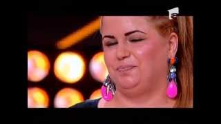 Oana(grasa) - You and I & Super Base  - Auditii Xfactor RO. 2013