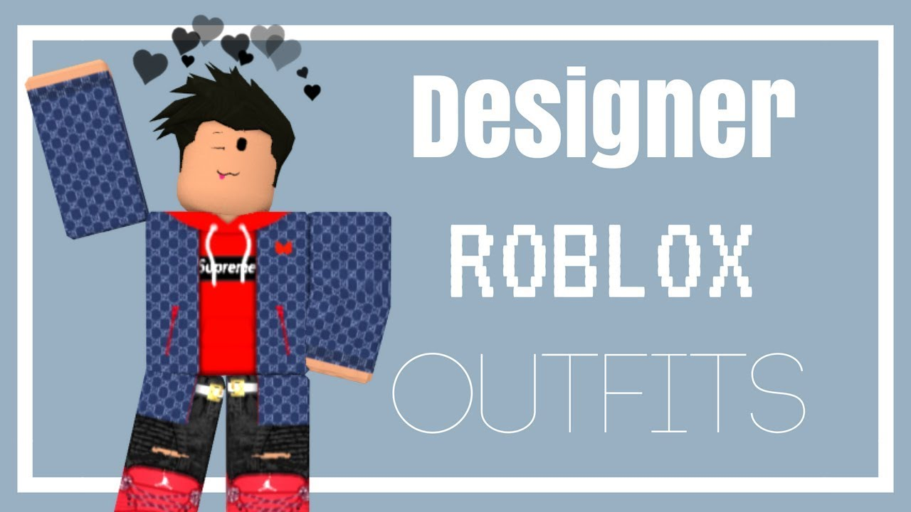 Designer Roblox Outfits Boys Youtube