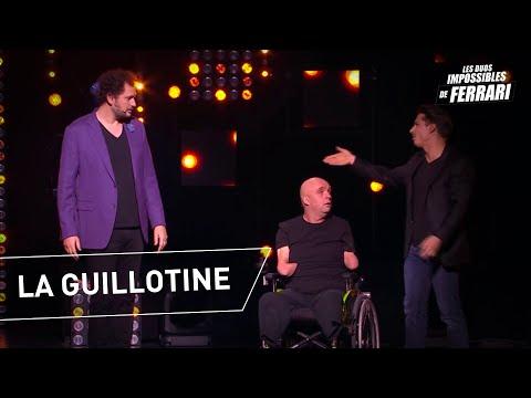Éric Antoine et Philippe Croizon : La guillotine