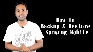 How To Full Backup And Restore Samsung Mobile Data | Billi4You