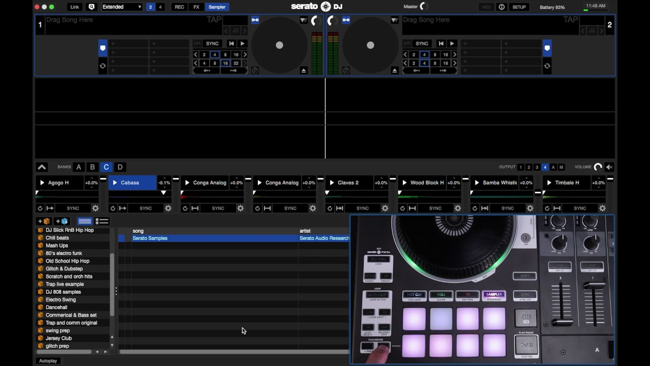 Your Guide to using the Roland DJ-808 with Serato DJ - PowerOn