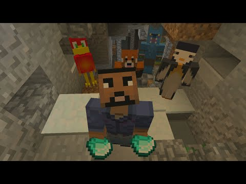 Minecraft Xbox - Hide and Seek - Treasure Cave