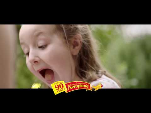 Aeroplane Jelly 90th year 30 second TVC