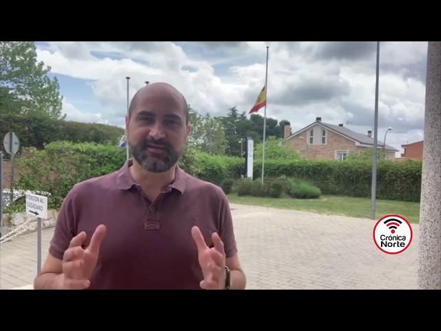 Presencia del Ejército para vigilar las imprudencias de algunos vecinos en Colmenar Viejo