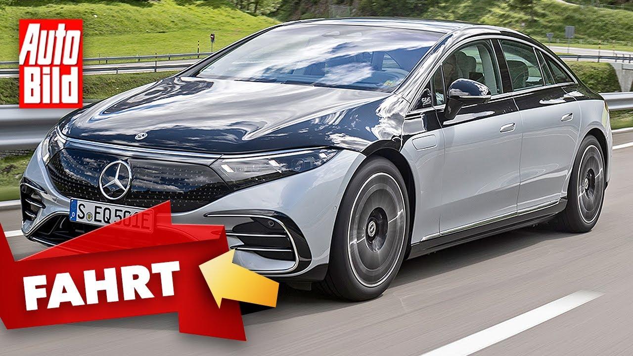 Mercedes EQS (2021) |So fährt der Luxus-Stromer mit Stern |Erste Fahrt mit Dirk Branke