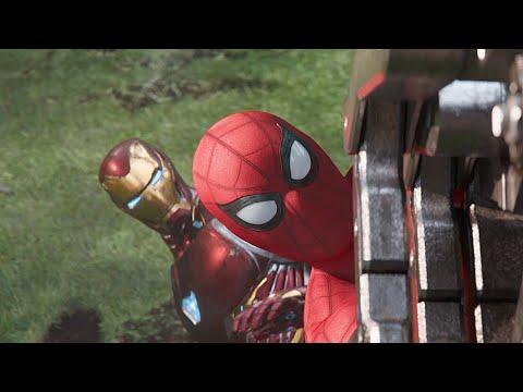 어벤져스 vs 블랙 오더 뉴욕 전투 장면 | 어벤져스: 인피니티 워 (Avengers: Infinity War, 2018) [4K]