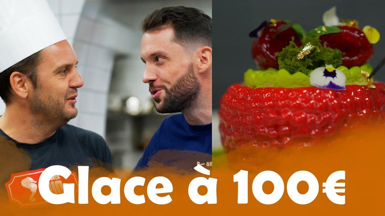 Glace à 1€ VS Glace à 100€ avec JC Hembert ( Karadoc ) !