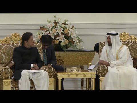 شاهد: رئيس وزراء باكستان عمران خان يلتقي ولي عهد أبو ظبي محمد بن زايد…  - نشر قبل 3 ساعة