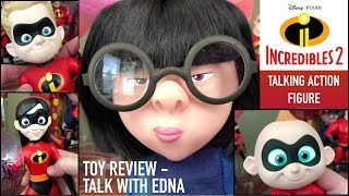 Incredibles 2 Talking Action Figures (Thinkway Toys) with Edna Mode