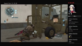Metal Gear Solid V:MGO gameplay
