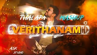 Cover images Verithanam Song Thalapathy Vijay Mashup | AR Rahman | Bigil Movie - ASK