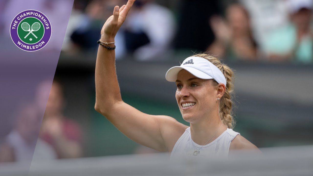 Angelique Kerber's title defence ends but Serena Williams rallies to victory