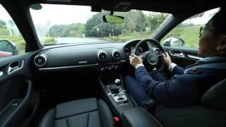 Audi MAGAZINE 2017 五味康隆氏による「Audi RS3のインプレッション」で...