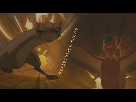 Leafie a Hen Into the Wild - Persecution (Scene)