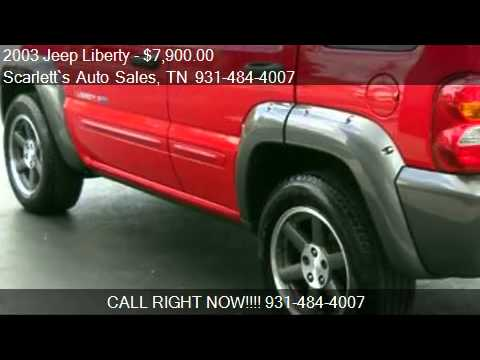 2003 Jeep Liberty Sport Freedom Edition 4WD  for sale in Cr  YouTube