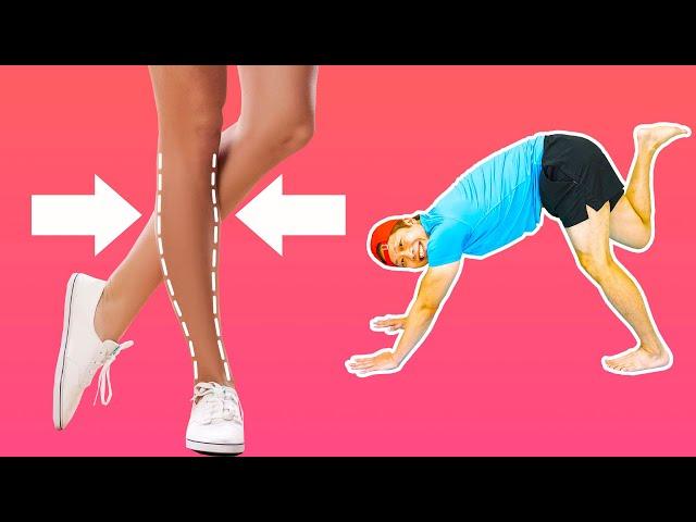 [筋肉ふくらはぎ解消] 脚やせストレッチはこれだけでOK!ふくらはぎ内側外側足首まで細くする!