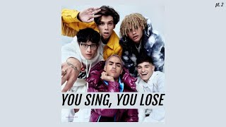 You Sing, You Lose || PRETTYMUCH Edition (pt. 2)