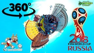 FIFA RUSSIA 2018 MOSCOW RED SQUARE in 360°  (360 VIDEO)