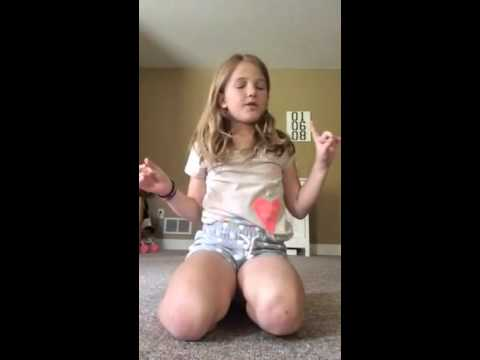 Macy's First gymnastics video