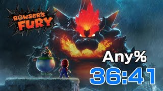 Bowser's Fury Any% in 36:41 | WR | Speedrun
