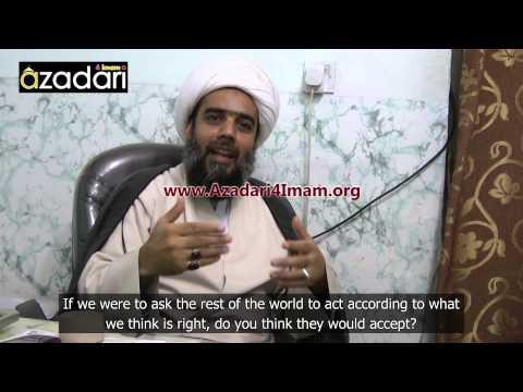 Ayatollah Sheikh Abdul Karim Haeri - Director of the Hawza of Karbala - Azadari4Imam