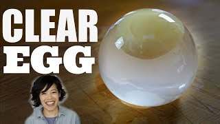 DIY CLEAR EGG & The Negg - egg peeler test | Raindrop Egg thumbnail