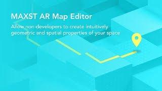 إنشاء خريطة 3D مع MAXST ع محرر خريطة