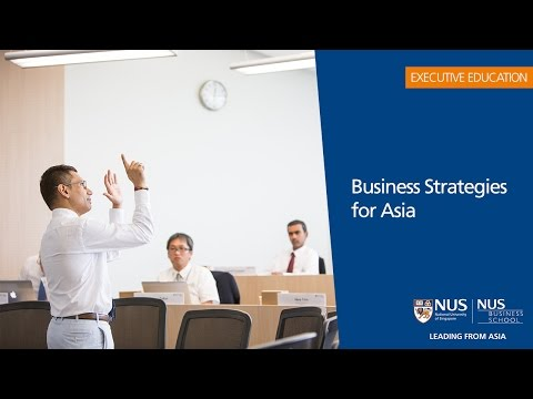 NUS Business Strategies for Asia: Participant Experiences