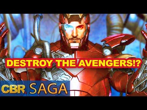 Iron Man's Blueprint To Destroy The Avengers