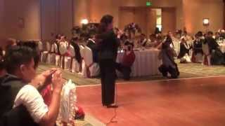Lea Salonga Wedding Performance Video - Filipino Orange County Wedding DJ - Behind the DJ Booth DJs