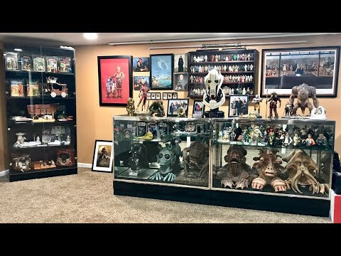 My Ultimate Star Wars Collection Room Tour 2018