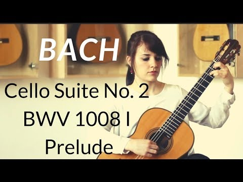 Isabella Selder plays Cello Suite No. 2 BWV 1008 I Prelude by J. S. Bach on a 1960 Hermann Hauser II
