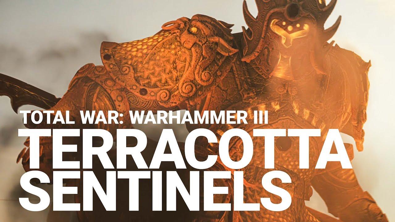 Terracotta Sentinels Unit Spotlight   Total War: WARHAMMER III