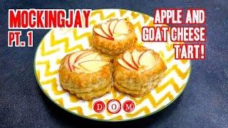 Mockingjay Apple & Goat Cheese Tart (peeta Inspired!)