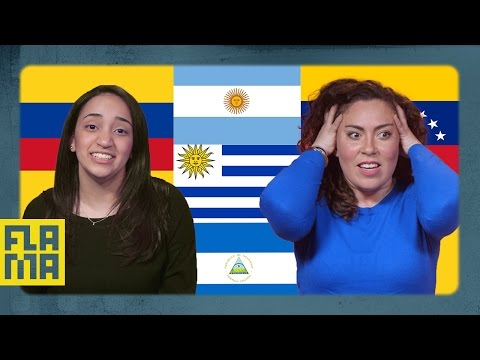 US Latinos Guess Latin American Flags