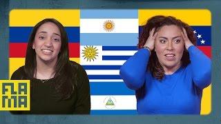 Baixar U.S. Latinos Guess Latin American Flags