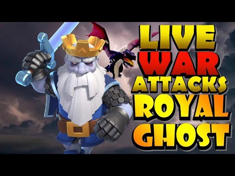 UPDATE IS LIVE! Lets Take ROYAL GHOSTS into WAR! LIVE TH12 War Attacks! Best TH12 Attack Strategies