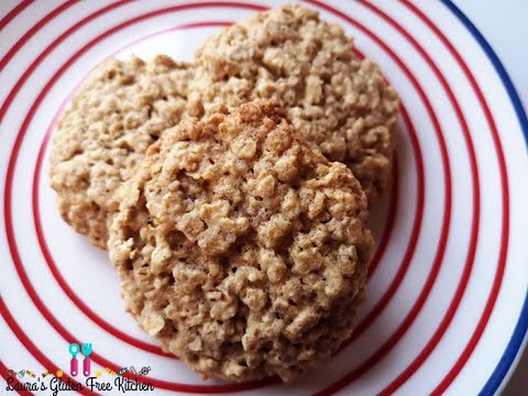 Gluten Free Oatmeal Cookies - How To Make Classic Oatmeal Cookies - Gluten Free
