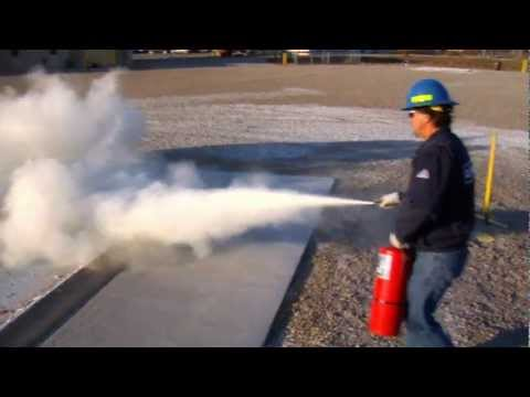 Ansul Sentry Abc Dry Chemical Fire Extinguishers Youtube