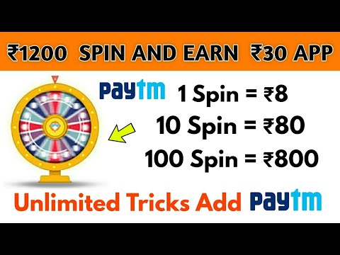 1 Spin = ₹80 Free Paytm Cash Trusted App || Live Payment Proof Added