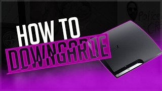 How To Downgrade Your PS3 To 3.55 From Any Firmware [JAILBREAK ONLY!]