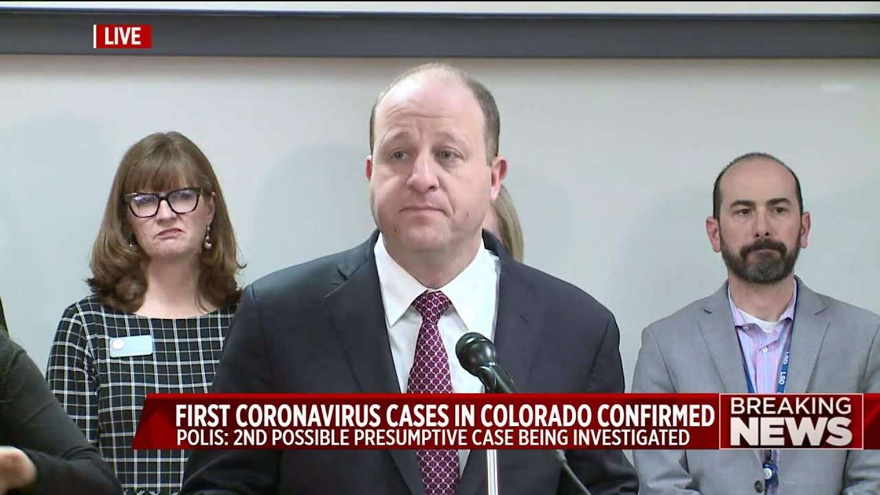 Colorado announces first two cases of coronavirus in the state