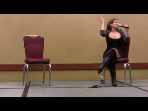 Amy Jo Johnson Experience Q&A Panel - Lexington Comic & Toy Con 2014