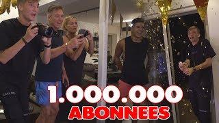 1.000.000 ABONNEES LIVE REACTIE! (OMG JAAA!!!!)