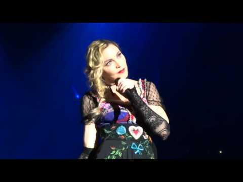 Madonna - Rebel Heart Tour San Diego - Frozen Live! FRONT ROW!