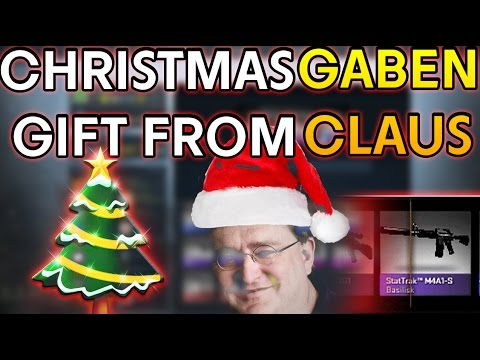 CS:GO - GABEN CLAUS's GIFT from Case Opening! *MERRY CHRISTMAS ...
