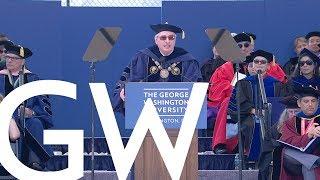 2019 GW Commencement - Full Program