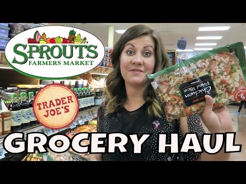 TRADER JOE'S HAUL | SPROUTS HAUL | $375 | PHILLIPS FamBam Hauls